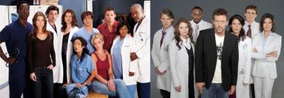 Nem a equipe de Dr. Hause, nem a equipe do Grey´s Anotomy  chegam aos pés das minhas médicas. Elas são melhores!